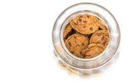 Cookie Jar and Cookies IV Royalty Free Stock Images
