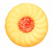 Cookie with Jelly Center Royalty Free Stock Photography