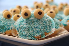 Cookie monster Stock Image