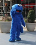 Cookie Monster In NY Stock Photo