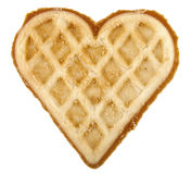 Cookie Of Form By A Heart Royalty Free Stock Image