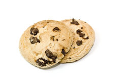Cookie On Isolated White Background Royalty Free Stock Images