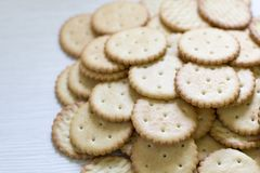 Cookie pattern. culinary background, fresh pastry. Confectionery Stock Images