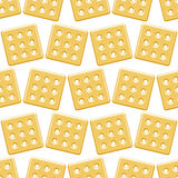 Cookie pattern Royalty Free Stock Photography