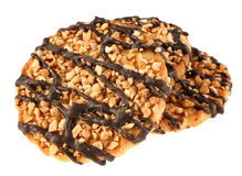 Cookie with peanut Royalty Free Stock Photos
