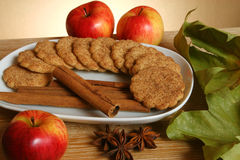 Cookie plate Stock Photography