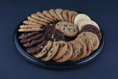 Cookie platter Royalty Free Stock Photography