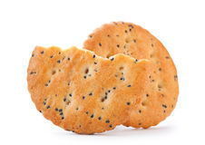 Cookie with poppy seed Stock Image