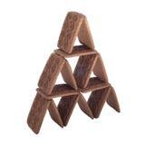 Cookie pyramid Stock Photos