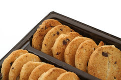 Cookie rows #2 Stock Photography