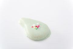 Cookie with royal icing Royalty Free Stock Photography