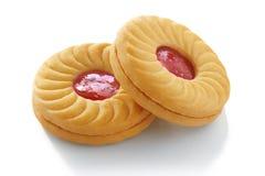 Cookie Sandwich stock photo
