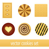 Cookie set Royalty Free Stock Photography