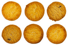 Cookie set on a white isolated background. Stock Image