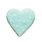 Cookie in shape of heart. Stock Images