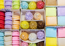 Cookie Shaped Soaps Stock Images