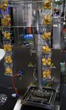 Vertical packing machine Stock Photo