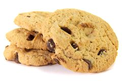 Cookie stack. royalty free stock photo