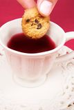 Cookie and tea Royalty Free Stock Photo