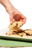 Cookie Temptation Royalty Free Stock Image