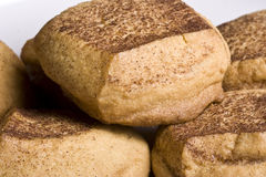 Cookie time. Close up of some very delicious snickerdoodle sugar cookies just out of the warm oven Stock Photography