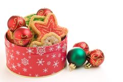 Cookie Tin Royalty Free Stock Images