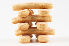 Cookie tower Royalty Free Stock Image