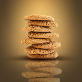 Cookie tower Royalty Free Stock Photos