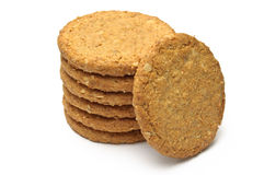 Cookie tower supports an upright Stock Photos