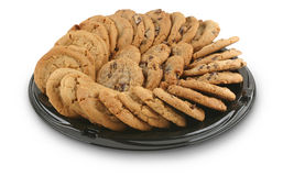 Cookie Tray. Platter of cookies Royalty Free Stock Image