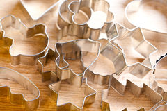 Cookie xmas cutter Stock Photography