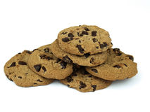 Cookies. Isolated on white background Royalty Free Stock Photos