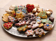 Cookies. My favourite cookies. Very delicious Stock Image