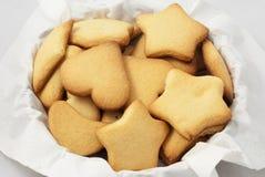 Cookies. Nice cookies in the basket Stock Image
