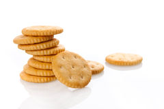 Cookies. On white background Stock Photography