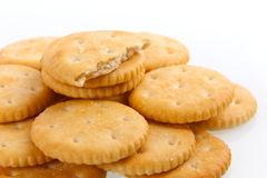 Cookies. On white background Royalty Free Stock Image
