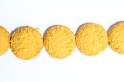 Cookies. On white background Isolated stock photo