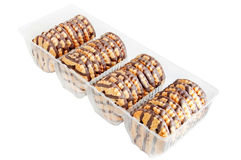 Cookies. In the plastic box Stock Image