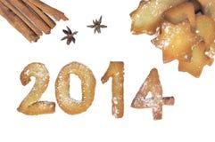 2014 cookies Imagem de Stock