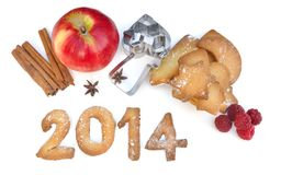 2014 cookies Foto de Stock Royalty Free