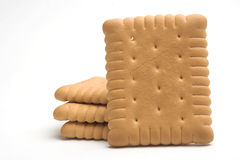 Cookies. Stack of cookies close up Stock Images