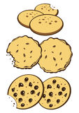 Cookies stock de ilustración
