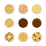 Cookies stock illustrationer