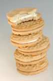 Cookies. Pile of cookies Royalty Free Stock Image