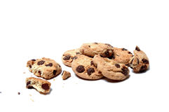 Cookies. Chocolate chip cookies Royalty Free Stock Photo