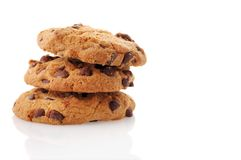Cookies. Isloated on white background Royalty Free Stock Photo