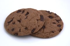 Cookies. Chocolate Chip Cookies Royalty Free Stock Photos