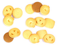 Cookies. Against white background Royalty Free Stock Image