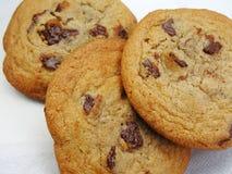 Cookies. Chocolate chip cookies Stock Photo