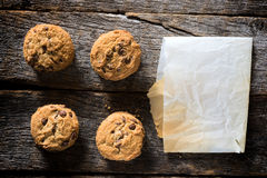 Cookies from above royalty free stock photography